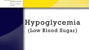 All About Low Blood Sugar